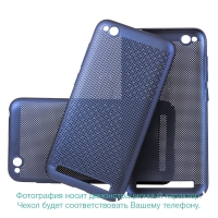 Чехол-накладка CASE Matte Natty, для Nokia 7 plus, PC, синий, мат , блистер