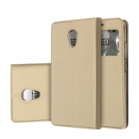 Чехол-книга CASE Dux Series, для MEIZU M5c, цвет золотой