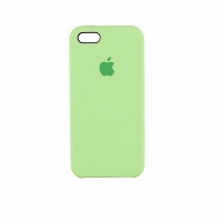 Чехол-накладка CASE Liquid, для Apple iPhone 5/5S, TPU, мятный, мат , блистер