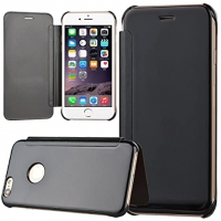 Чехол-книга CASE Smart view, для Apple iPhone 5/5S, цвет черный