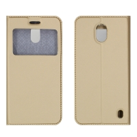 Чехол-книга CASE Dux Series, для Nokia 2, цвет золотой