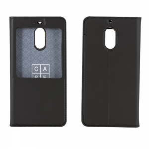Чехол-книга CASE Dux Series, для Nokia 3, цвет черный