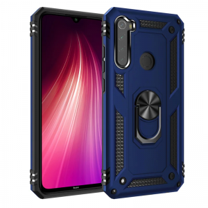 Чехол-накладка CASE Defender Xiaomi Redmi Note 8T синий блистер