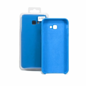 Чехол-накладка CASE Liquid, для Samsung Galaxy J4 plus, TPU, синий кобальт, мат , блистер