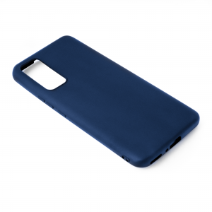Чехол-накладка CASE Matte Huawei Honor 30 синий блистер