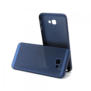 Чехол-накладка CASE Matte Natty, для Samsung Galaxy J4 plus, PC, синий, мат , блистер