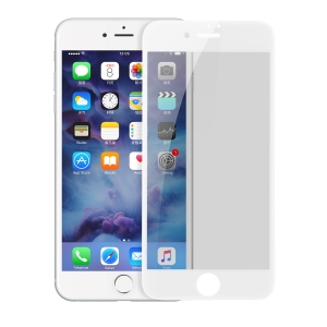 Защитное стекло Baseus Tempered glass screen protector with crack-resistant edges and anti-spy function, для Apple iPhone 7 / 8 глянец белый