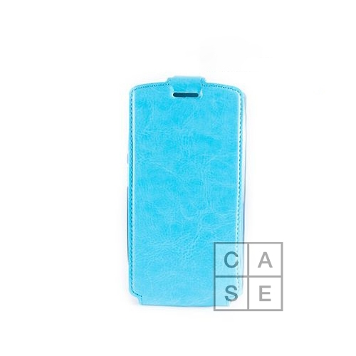 Чехол-флип EXPERTS Slim Flip Case, для Samsung Galaxy Ace (S5830), цвет голубой