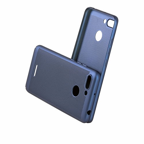 Чехол-накладка CASE Matte Natty, для Xiaomi Redmi 6, PC, синий, мат , блистер